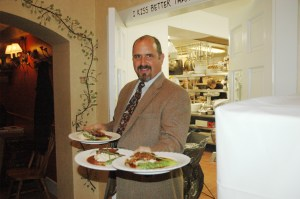 Jimmy Crippen will be shifting his focus to the Got to Be NC Competitive Dining Series full-time. Photo by Ken Ketchie