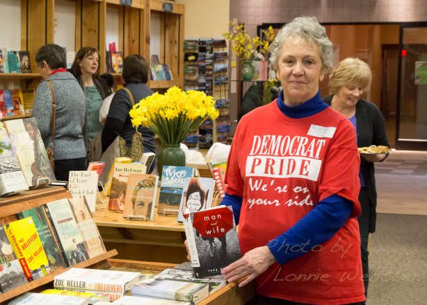 March Cash Mob at the Black Bear Book Store sponsored by the Watauga Democratic Party