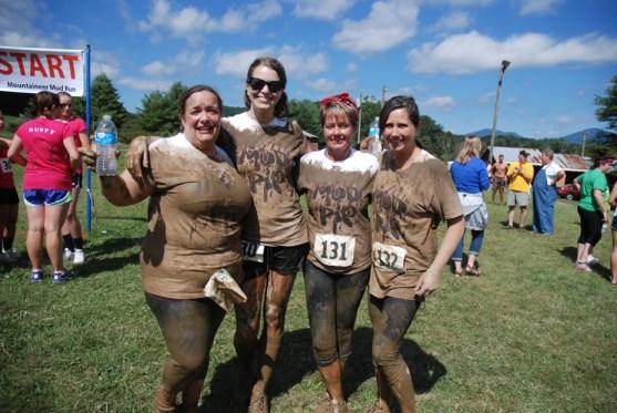 Nice and muddy