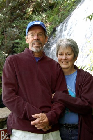 Stephen and Barbara Benson donated a Conservation Easement on their family land in Ashe County.