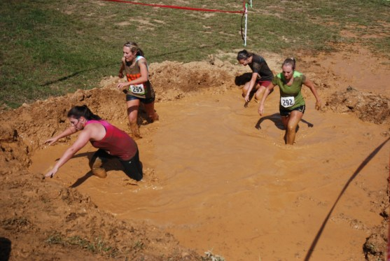 Working through the mud