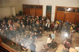 Around 200 people turned out for the Boone Community Network event this past Saturday. Photo by Ken Ketchie