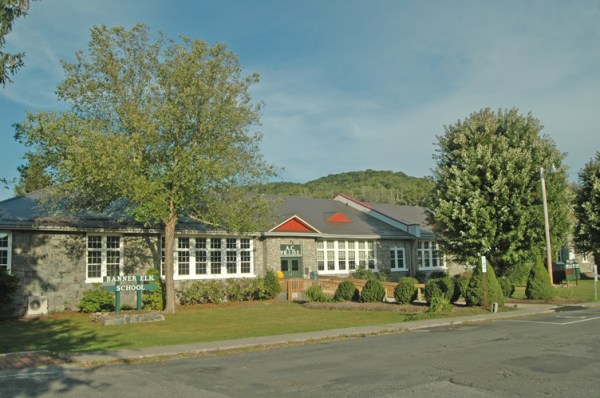 The Avery County Board of Commissioners has agreed to sell the old Banner Elk Elementary School property to the Town of Banner Elk. Photo by Jesse Wood