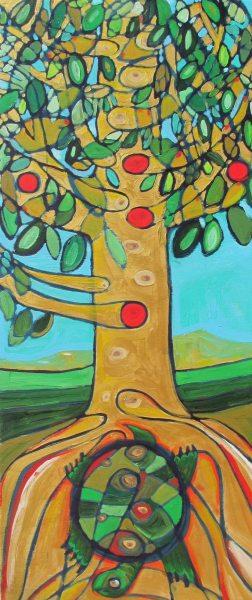 "Deborah Tallarico, ""The Turtle and the Tree"""