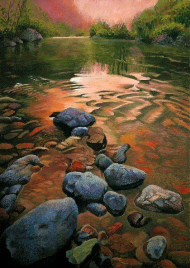 Eddie Kent Tallent - First Light - Pastel