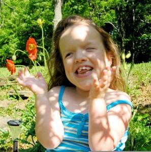 Elli Fielland loves being outdoors. Photo by Cyndi Fielland