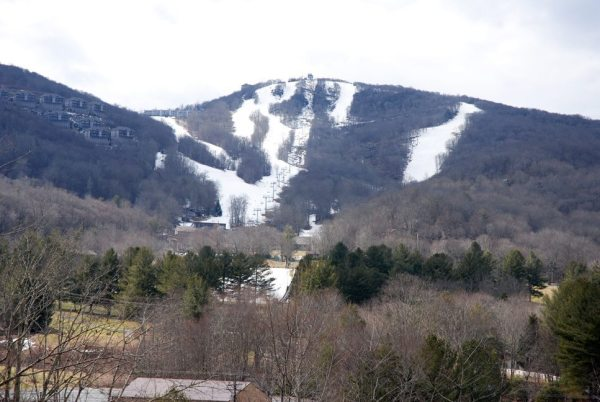 A view of Sugar Mountain Resort on Tuesday. Photo by Ken Ketchie