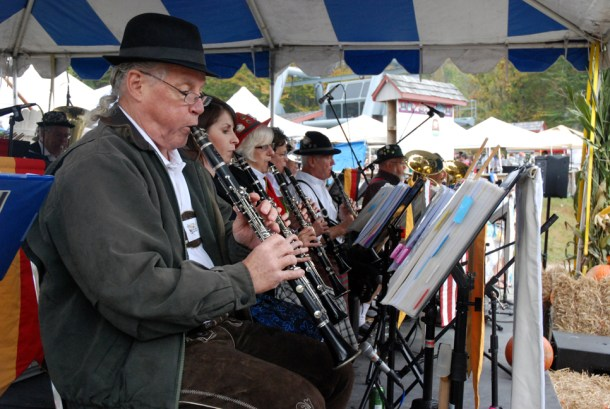 Music is always in the air at Oktoberfest