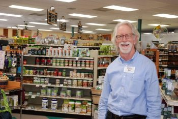 Ben Henderson is pictured at Bare Minerals Natural Market. Photo by Ken Ketchie.