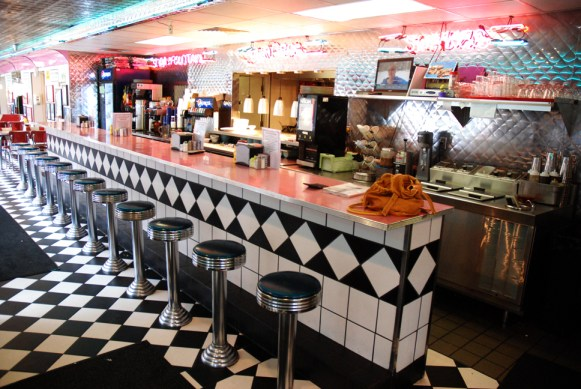 This is a perfect place to sit down and grab a milkshake or a banana split. Photos by Ken Ketchie