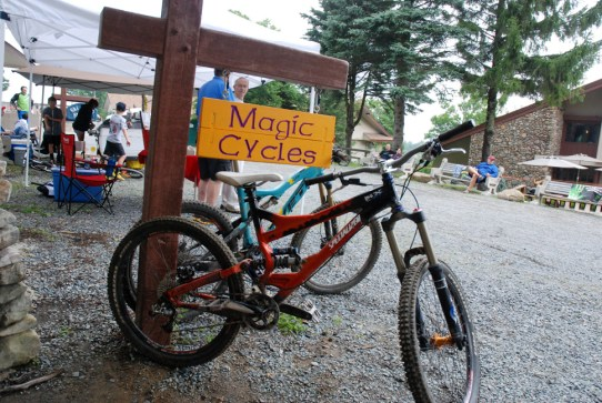 Magic Cycles at Beech Mountain. Photo by Ken Ketchie