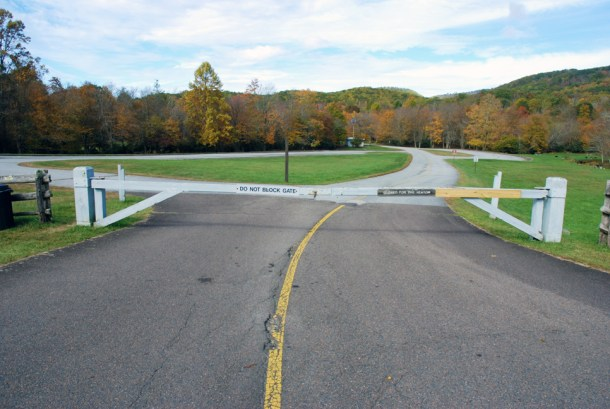 Many amenities of the Parkway remain closed to the public