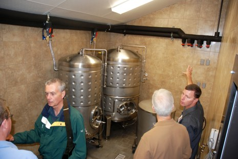 More photos of the brewery operation.