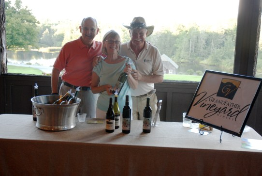 Even Grandfather Winery and Vineyards got in on the fun!