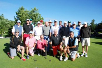 Participants of the the 50th Anniversary Rhododendron Invitational Golf Tournament. Photo by Ken Ketchie