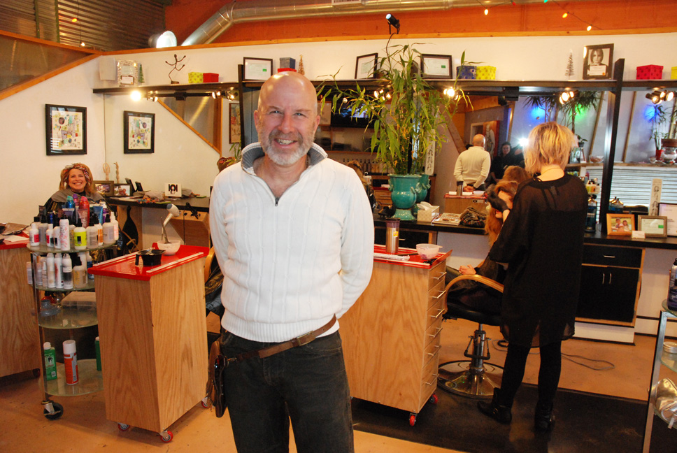 Business Spotlight John Mena And Haircut 101 Celebrate 25 Years Of A Hair Love Affair In The High Country High Country Press