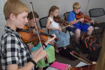 Fiddle Students