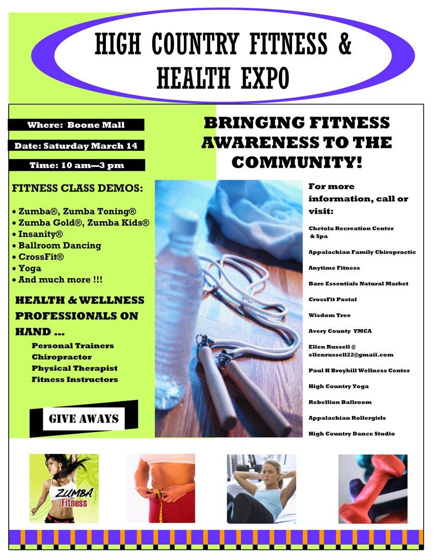 HighCountryFitness Expo-2015