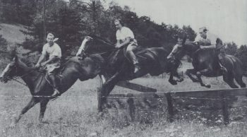 Untitled (Blowing Rock Horse Show), c. 1950. Photograph. Collection of the Blowing Rock Historical Society.