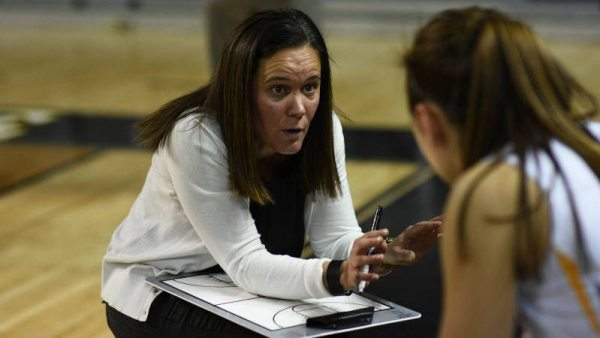 Appalachian State women's basketball head coach Angel Elderkin. Courtesy: Justin Perry / App State Athletics