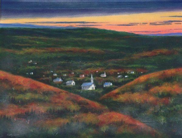 """William Dunlap, """"Valley View"""""""