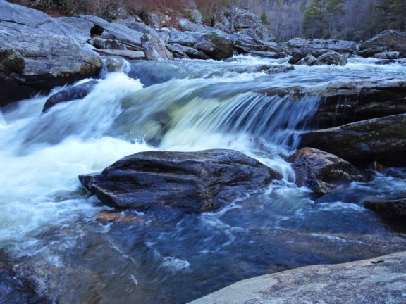 Here's a image Todd Bush captured with his phone during his recent trek into the Linville Gorge. Photo by Todd Bush