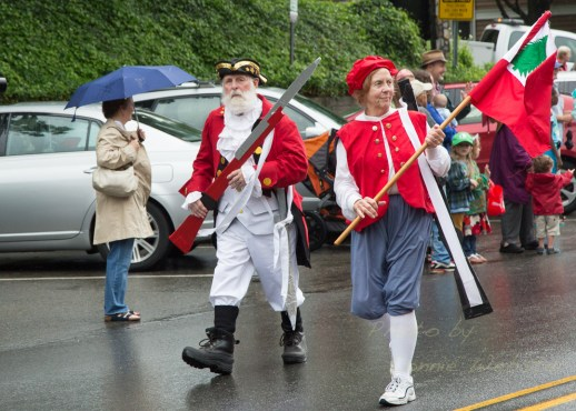 Boone 4th of July Parade in the rain