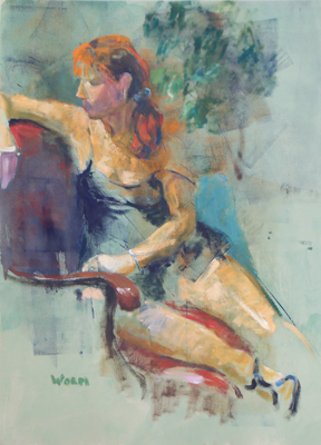 Kate Worm - Figurative watercolor