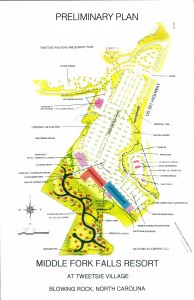 Preliminary Plan for Middle Fork Falls Resort
