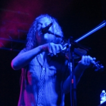 Fiddler for Railroad Earth - Photo by Megan Northcote