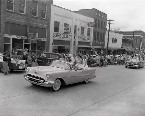 5) Pageant Parade, April 1957, Palmer Blair Collection, Digital Watauga Project;