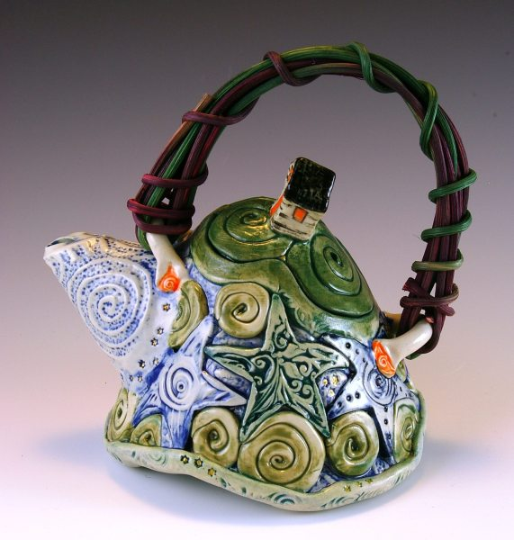 patti-conner-greene-tea-for-one-clay-teapot