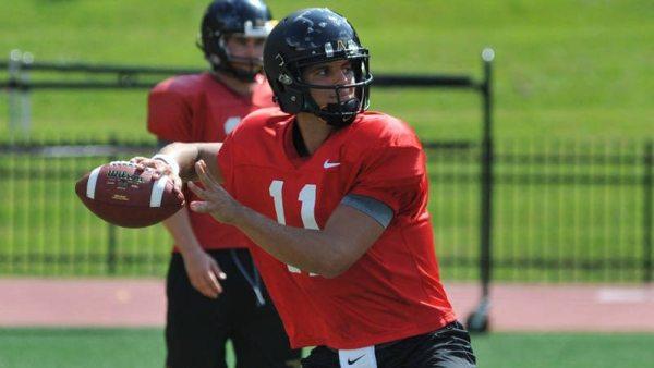 Reigning Sun Belt Freshman of the Year Taylor Lamb and the Mountaineers begin spring practice on Saturday. Photo by Dae Mayo / Appalachian State Sports