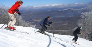 Skiers on Sugar Mountain - Photo by Todd Bush