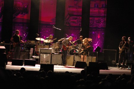 Tedeschi Trucks Band performs at the Schaefer Center last weekend. Photo by Dave Mayo