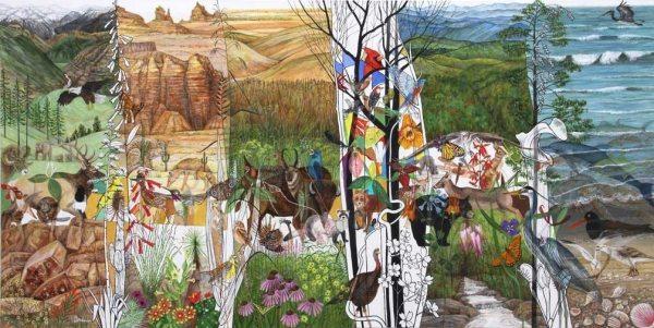 Trena McNab - American Landscape - 24x48
