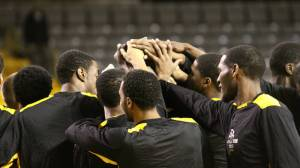 Appalachian State men's basketball enters the 2013 SoCon Tournament as the No. 4 seed after finishing second in the North Division. Photo by Rob Moore and courtesy of Appalachian Sports Information