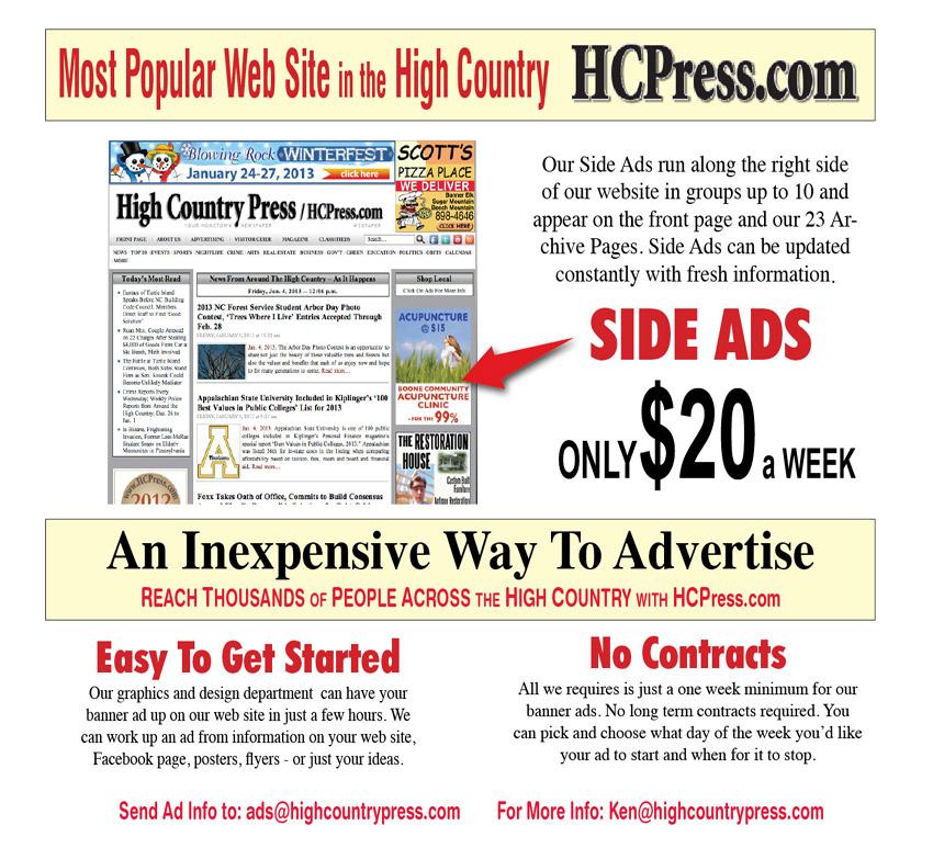 WEB landing Page Ads