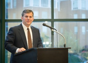 """Stein spoke on the topic """"Reclaiming Our Future the North Carolina Way."""""""