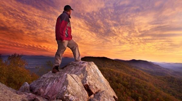 Sunset Climb by Brent McGuirt