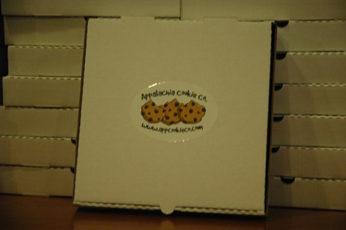 Cookies will come packaged in big boxes so they can be delivered hot and not stick together