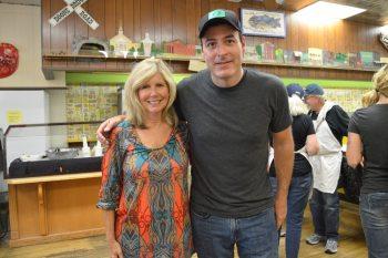 Suzie Long and Steve Pariso