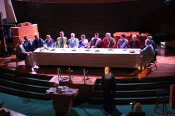 """""""The Last Supper"""" at Boone United Methodist Church"""