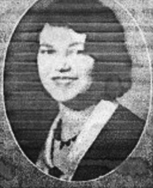 Mary Elder during her time at Lees-McRae. Photo provided by the Elder family.