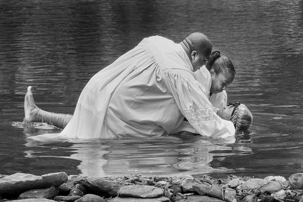 """""""Boone Fork Baptism"""" by Mitzi Gellman"""