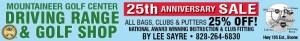 mountaineer golf banner