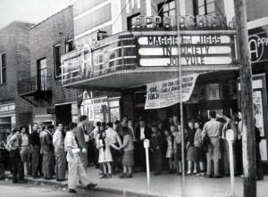 The Appalachian Twin Theater years ago.
