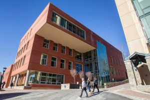 The recently opened four-story addition to Plemmons Student Union provides much needed meeting space for Appalachian State University students. Photo by Marie Freeman