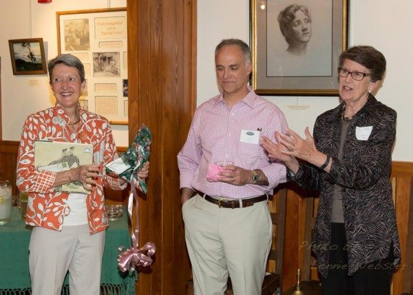 Blowing Rock Historical Society welcomes Lee Carol Giduz, the new Executive Director of BRAHM ( Blowing Rock Art History Musum at a reception in the Edgewood Cottage.