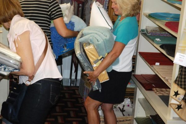 unnamed-3Customers shop the inventory liquidation sale at Shannon's Curtain, Bed and Bath. Photo by Ken Ketchie.